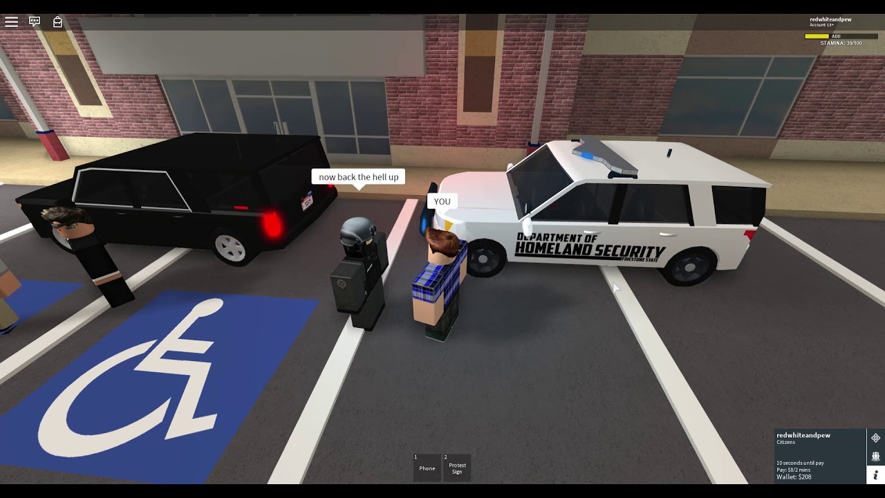 Patrioticlaw Literally Arrested Me For No Reason Roblox