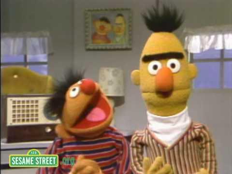 Sesame Street Bert And Ernie Jump Youtube