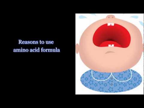 Infant Formula – Amino Acid Formulas