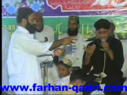 Farhan Ali Qadri  Mehfil e Naat Jhongal...
