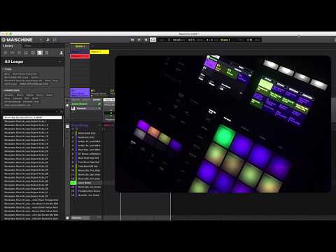 Maschine 2.8.6 Update - Set & Reorganise Pattern, Sound, Group and Scene colors from MK3
