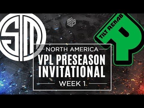 TSM vs Tilt Rehab - North America - Week 1 - Vainglory Premier League Preseason Invitational