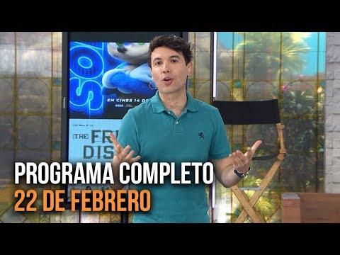 Cinescape 22 De Febrero (Programa Completo)
