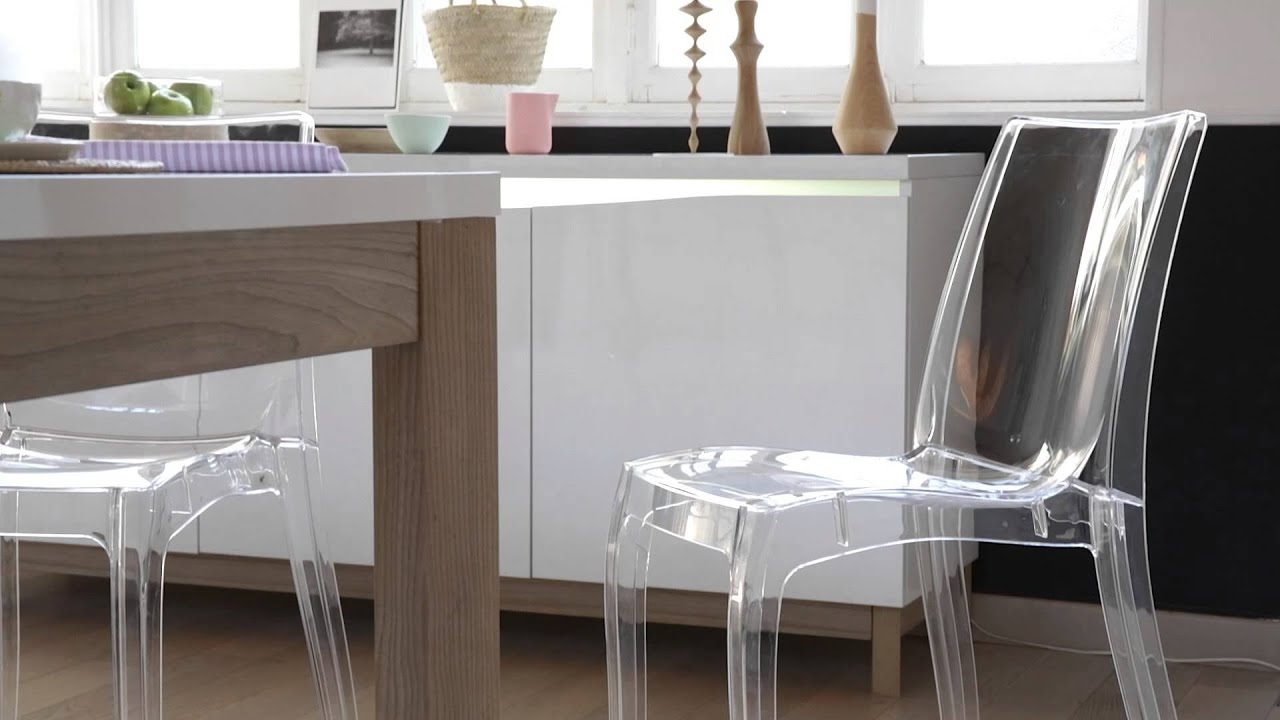 But chaise - Chaise salle a manger transparente ...
