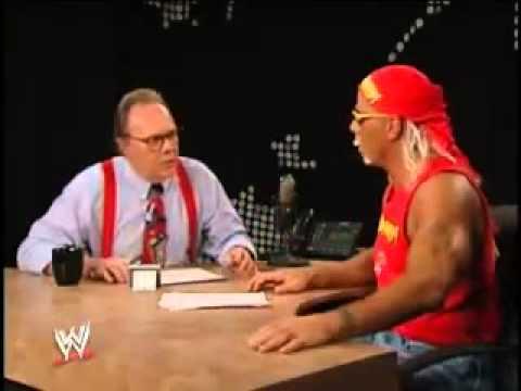 Shawn Michaels pardoy of Hulk Hogan [Lary King Live Spoof]