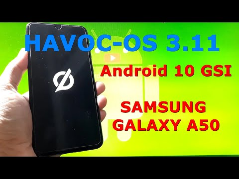 Havoc-OS v3.11 Android 10 for Samsung Galaxy A50