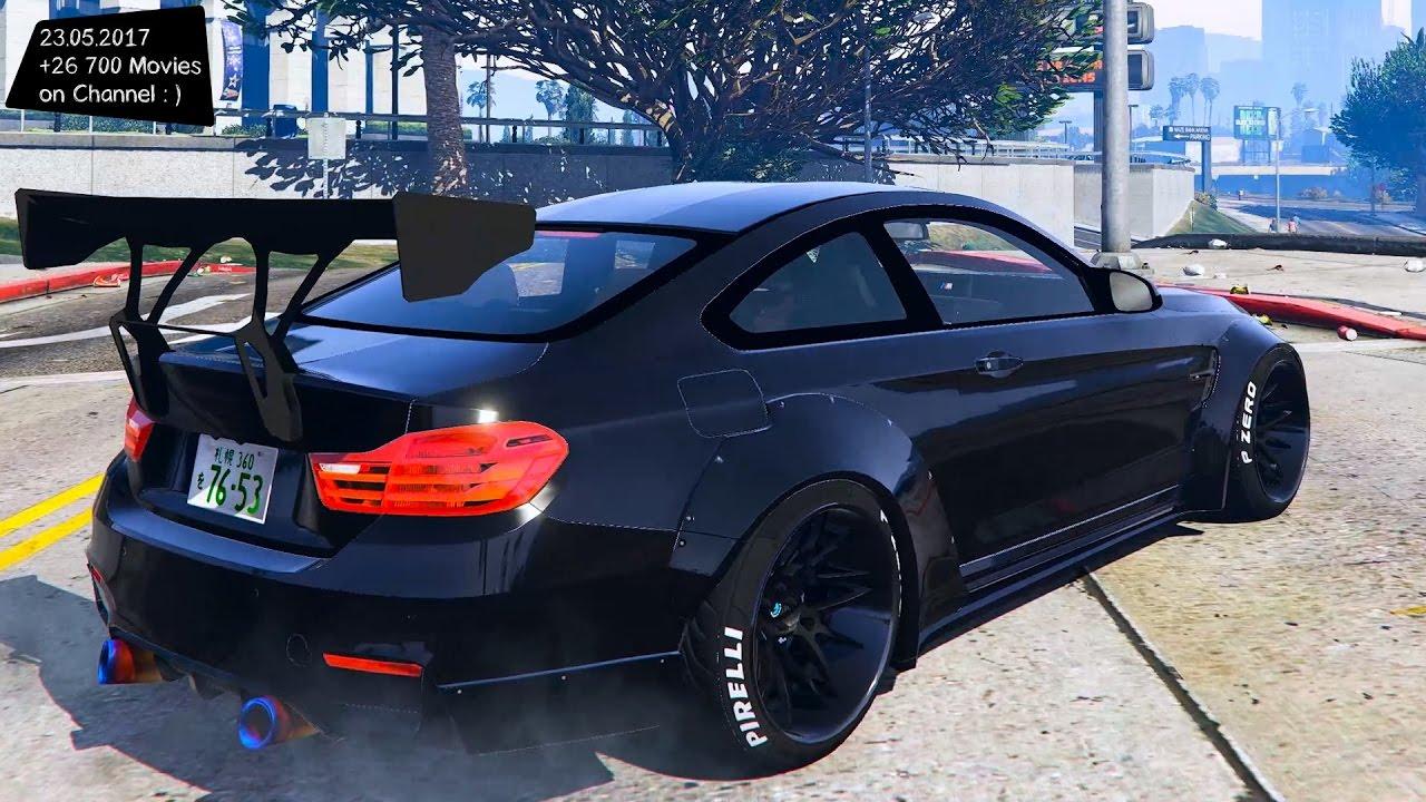 BMW M F Liberty Walk New ENB Top Speed Test GTA Mod Future - 2013 bmw m4
