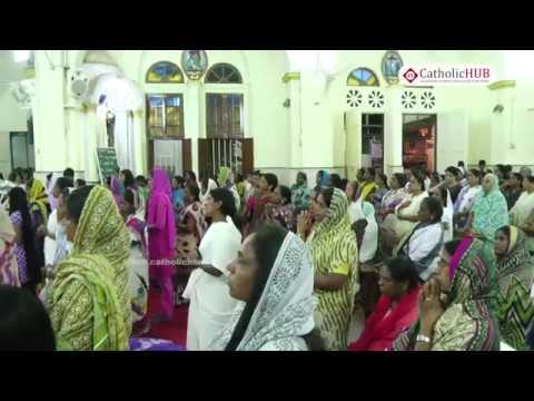 Way of the Cross @ Sacred Heart Church,Richmonds Road,Bengaluru,KA,India 07-04-17