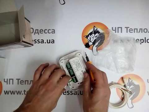 Цифровой терморегулятор на два помещения Теплолюкс ТР 730. Подключение к теплому полу