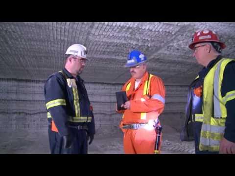 Inspection of an Ontario Salt Mine | Inspection d'une mine de sel en Ontario