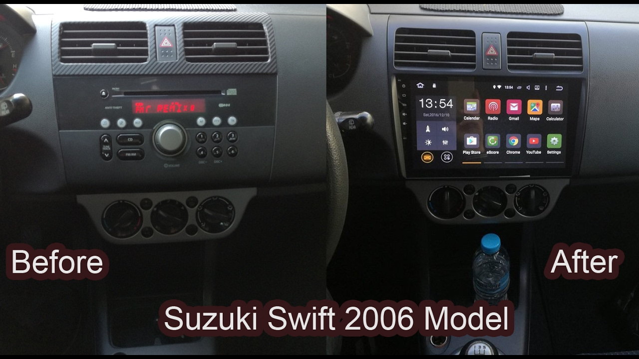 Android Car Radio For Suzuki Swift Youtube