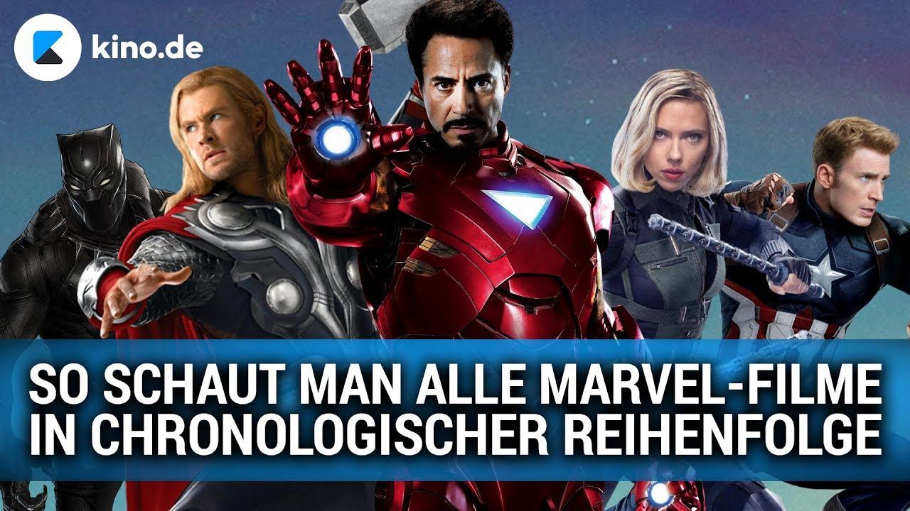Alle Marvel Filme Reihenfolge