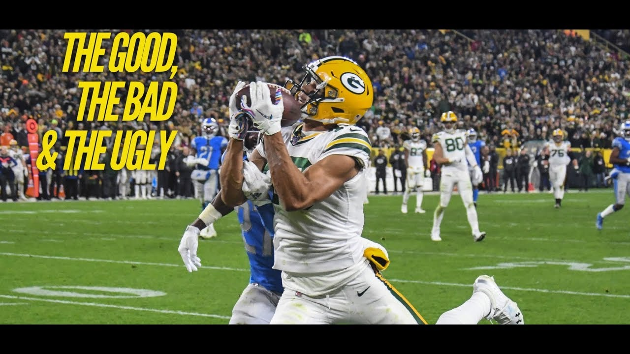 The Good, Bad And Ugly From The Green Bay Packers' Win Over The Detroit Lions