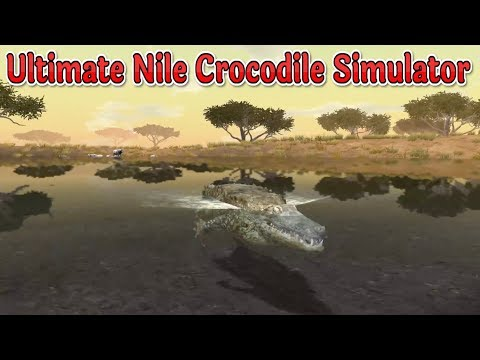 🐊Ultimate Nile Crocodile Simulator-By Gluten Free Games-IOS/Google Play