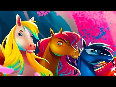 СКАЗКА про Приключения волшебных ЛОШАДОК игровой мультик познавательное видео для детей #ПУРУМЧАТА