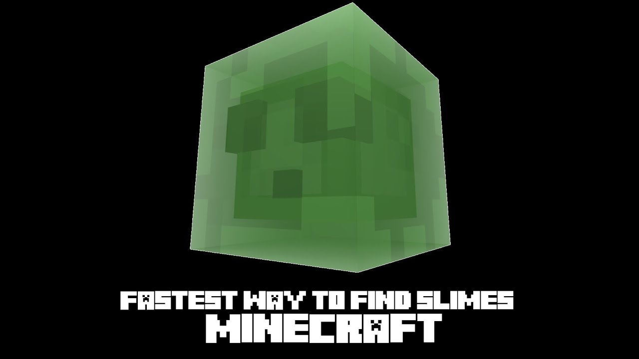 MINECRAFT HOW TO FIND SLIMES PS4 CAMERA