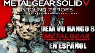 Metal Gear Solid V: Ground Zeroes - DeJa Vu Rango S - EN ESPAÑOL