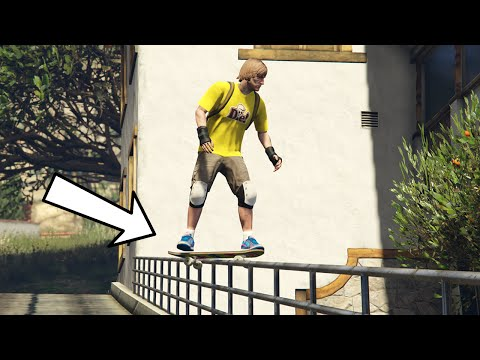 Faire du skate sur gta 5 yourepeat - Comment faire du skateboard ...