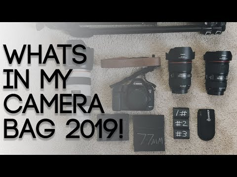 What's In My Camera/ Photography Bag 2019!