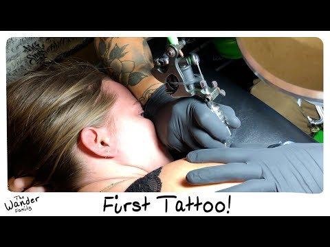 MY FIRST REAL TATOO!! Huge Birthday Surprise! | The Wander Family