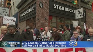 NAACP, City Leaders Call For End To Racial Profiling Following Controversial Starbucks Arrests