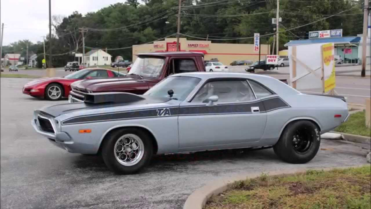 1970 Dodge Challenger T A Race Car Youtube