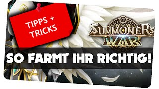 Farming-Guide für Einsteiger! || Summoners War [German/Deutsch iOS Android APP]