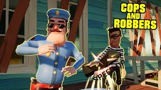 - HELLO NEIGHBOR COPS AND ROBBERS UPDATE Hello Neighbor Mod
