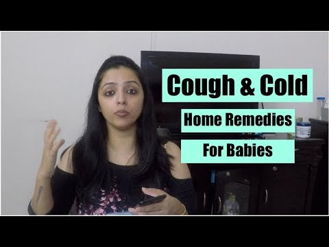 Cough & Cold : Home Remedies For Baby
