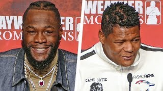 Deontay Wilder vs. Luis Ortiz II - FULL FINAL PRESS CONFERENCE | Fox PBC Boxing