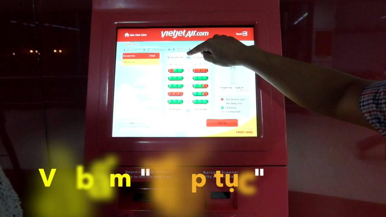 Hướng dẫn Làm check-in tự động tại sân bay