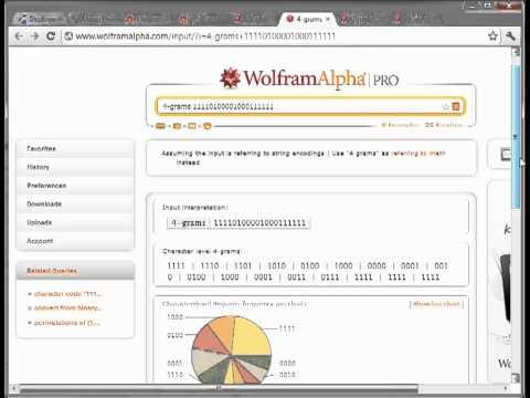 First Look Wolfram Alpha Pro