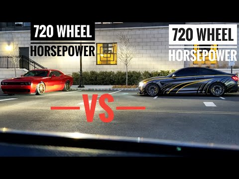 Upgraded Turbo BMW M4 Tries To Gap This Hellcat