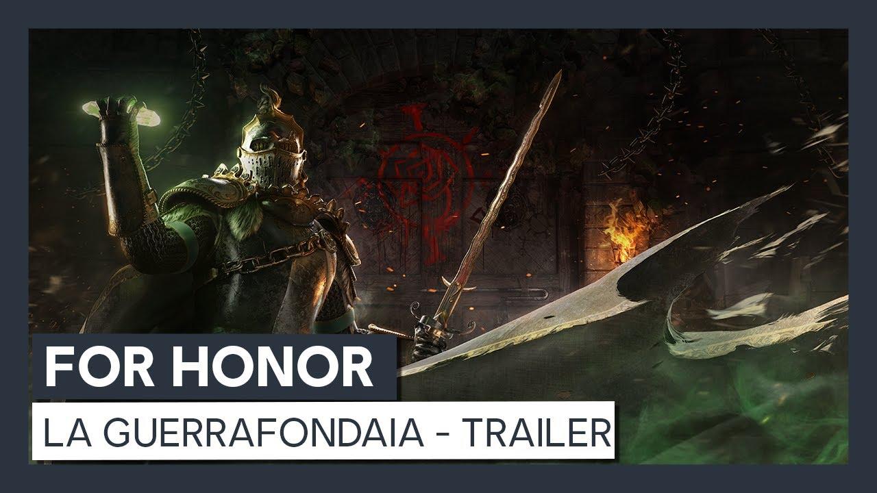 For Honor: La Guerrafondaia - Trailer