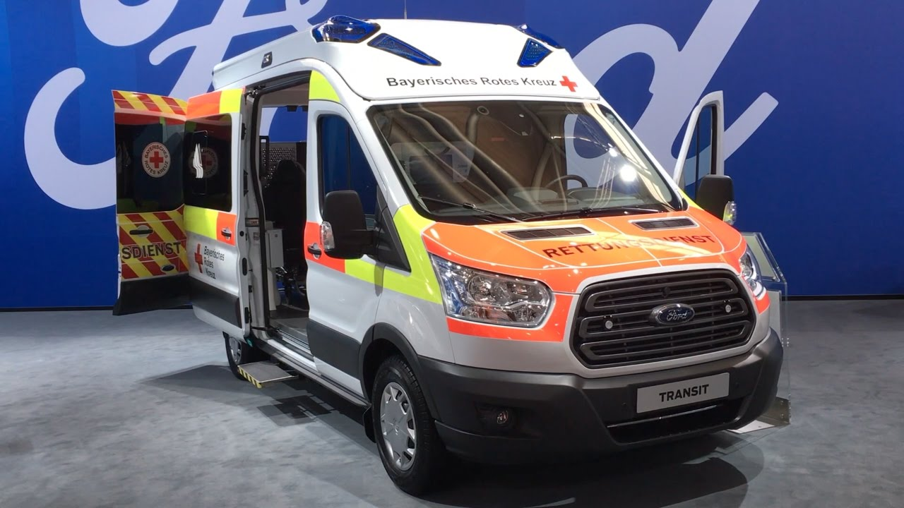 Ford Transit Ambulance 2016 In detail review walkaround ...