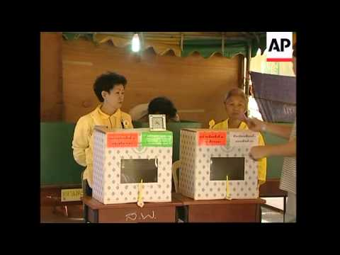 Polls open and early voting in parliamentary election