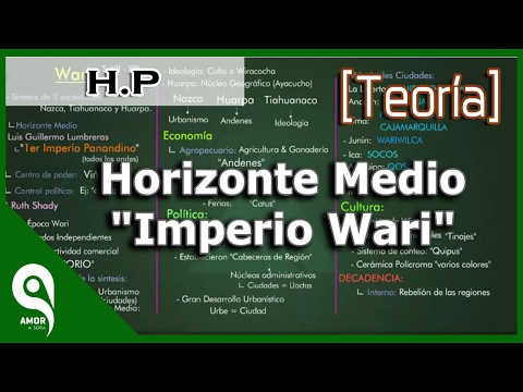 "Historia del Perú │Horizonte Medio ""Imperio Wari""  8/33"