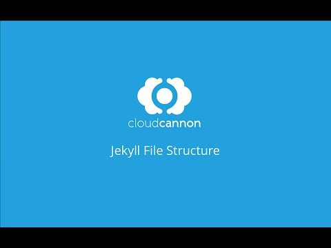 File structure - CloudCannon Casts