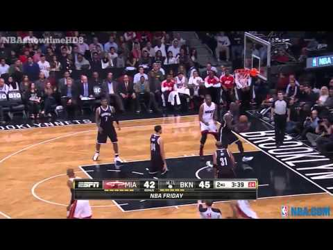 Miami Heat vs Brooklyn Nets, January 10, 2014