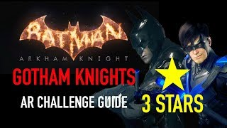 Batman Arkham Knight - Gotham Knights Challenge  -  3 Stars