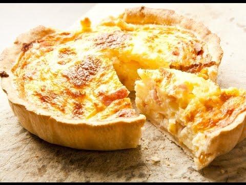 Пирог с курицей - Лоранский пирог