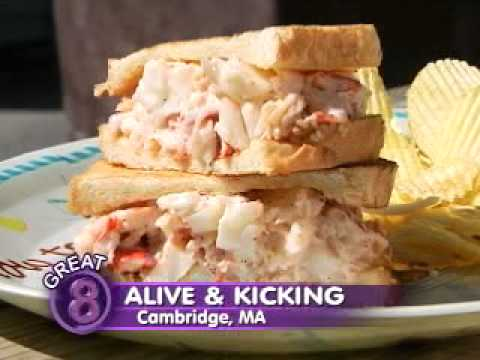 Alive Kicking Lobsters