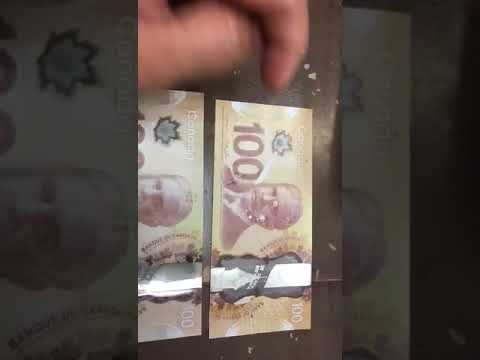Fake Canadian Currency Bills