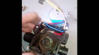 как заменить, отремонтировать трехходовой клапан на котле Seoul 14