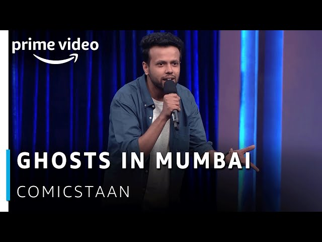 Ghosts in Mumbai: Stand up Comedy by Sapan Verma   | Comicstaan | Amazon Prime Video