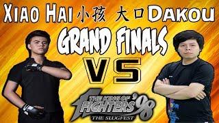 KOF 98 - Online Beta Tournament - GRAND FINALS - Xiao Hai 小孩 vs Dakou 大口 - FT 7 - 26-07-2018