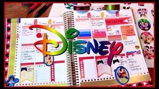 Plan With Me! #10 | Week Before Disney! | Decorating My Erin Condren Planner