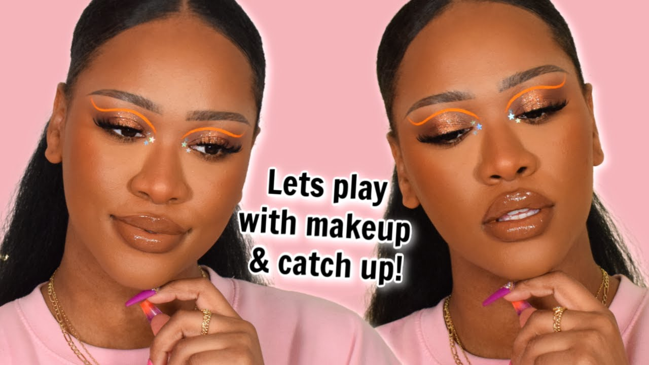 MAKEUP & CHILL! LETS GET BACK TO THE MAKEUP & HAVE FUN   EP1   TAMMI CLARKE