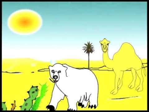 الصحراء ( الموطن الطبيعي)