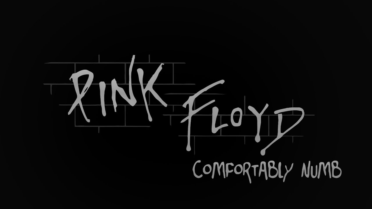 Pink Floyd Comfortably Numb The Wall Lyrics Youtube